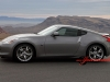 Nissan 370Z in Red Rock Canyon Nevada