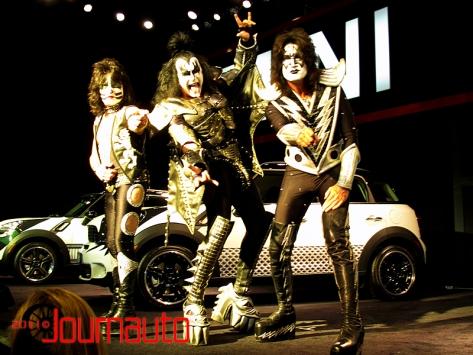 Mini Kiss show at 2011 NYIAS