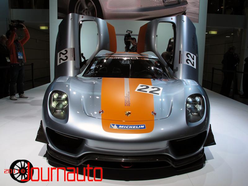 Porsche 918 Hybrid Race Car. Porsche 918 Rsr Race Car