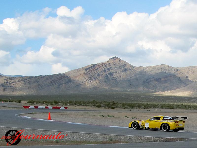 Ron Fellows Cragar Corvette