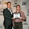 Shaun Keenan, Runner-up: Best Print Design Award presented by Kia Canada, awarded by Jack Sulymak, National Manager of Corporate Communications