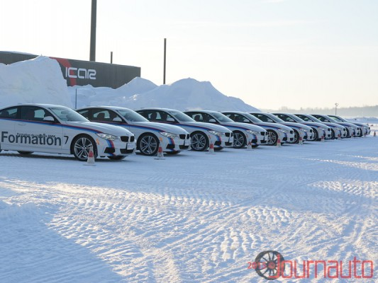 BMW Winter Driver Training