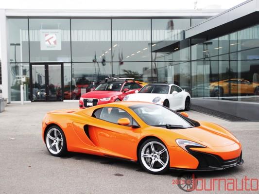 2015 McLaren 650S Spider | Shaun Keenan